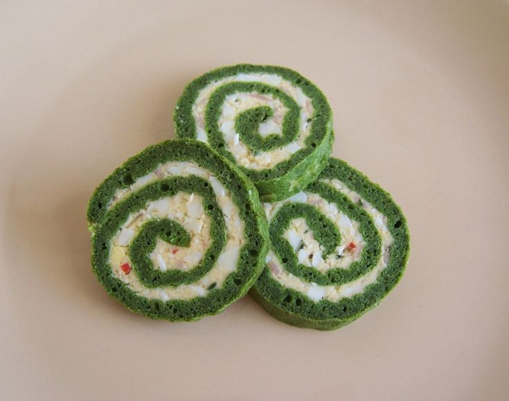Zelená roláda