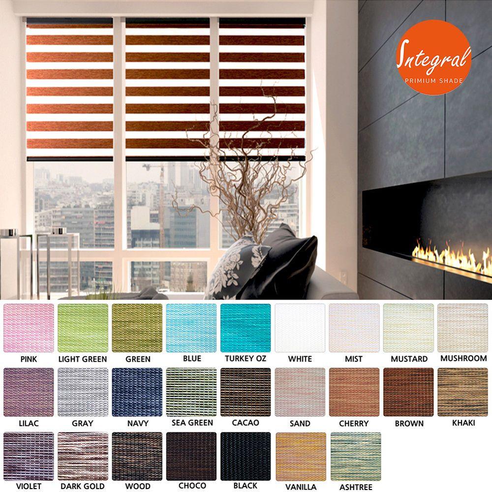 Zebra window coverings  details about window blinds zebra roller sheer shades light