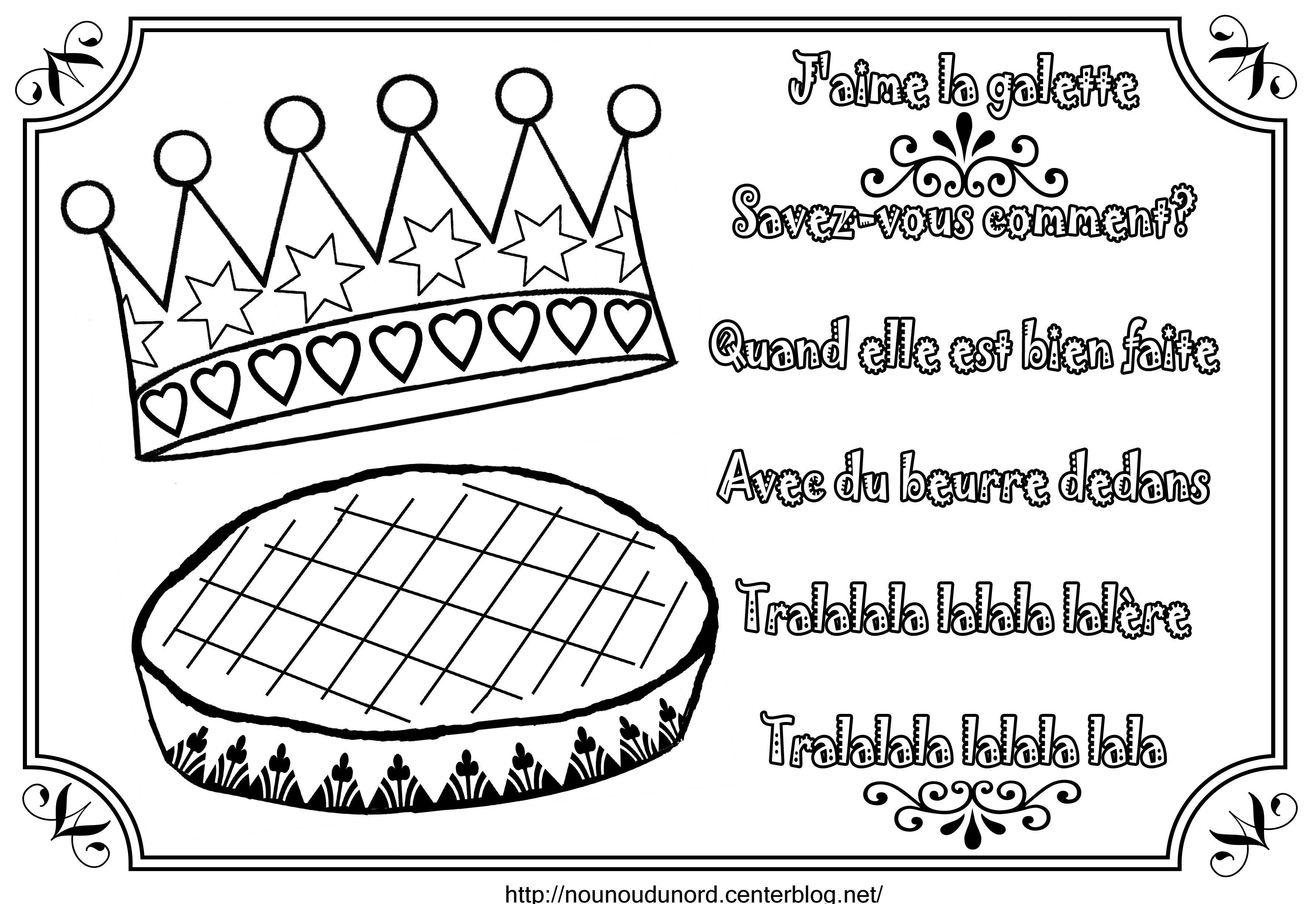 galette des rois maternelle - Recherche Google   Galette des rois ...