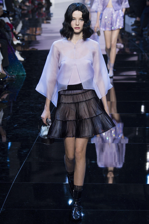 Armani Privé Spring 2016 Couture Fashion Show | mote ...