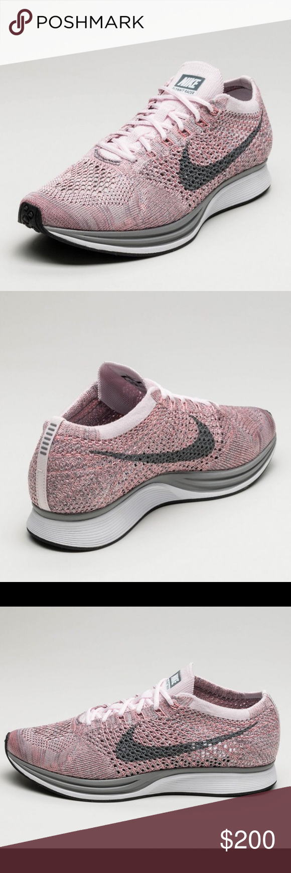 7da7da119373 Nike Flyknit Racer Macaron Pack Strawberry Size 7.5 Women s. Brand New with  Box. SOLD OUT on this Size. Nike Shoes Athletic Shoes