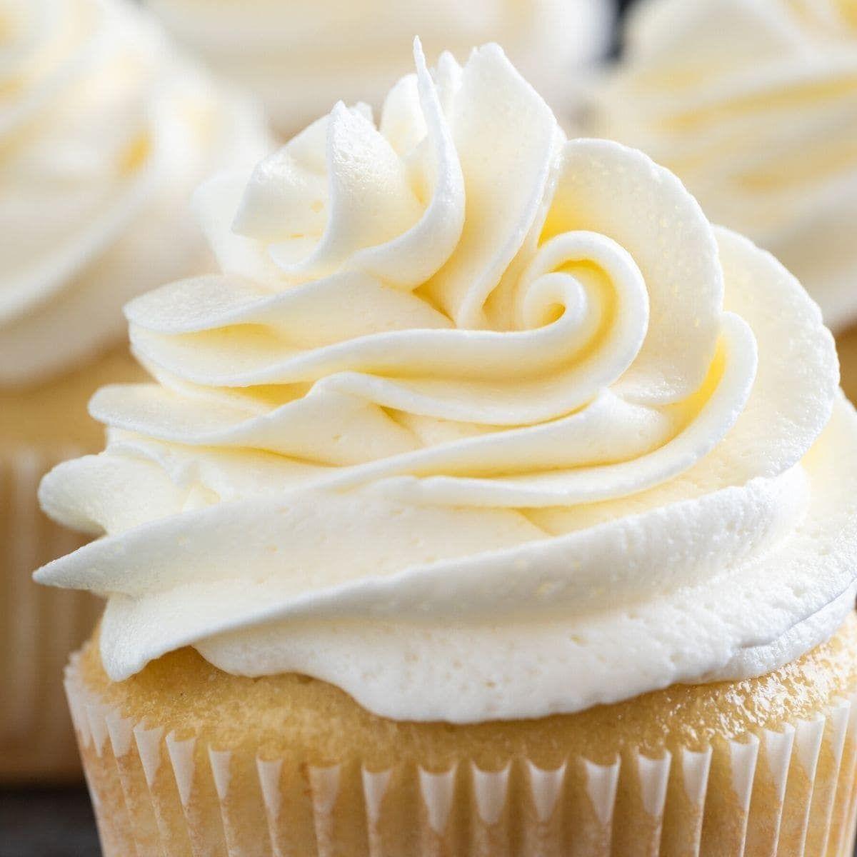 Vanilla Buttercream Frosting Recipe In 2020 Frosting Recipes Vanilla Buttercream Frosting Buttercream Icing Recipe