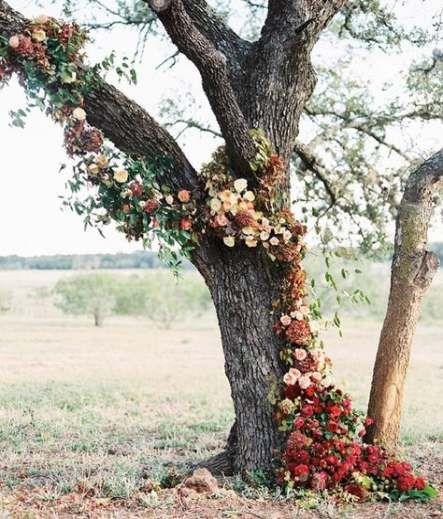 63 ideas oak tree wedding ceremony flower #ceremonyflowers