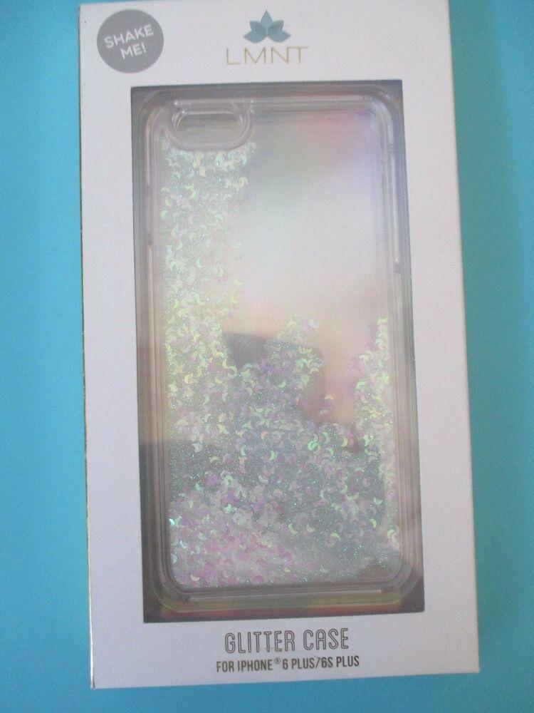 huge discount 93f7f bc604 LMNT iPhone 6 Plus 6S Plus Phone Case Hardshell Cover Liquid Glitter ...