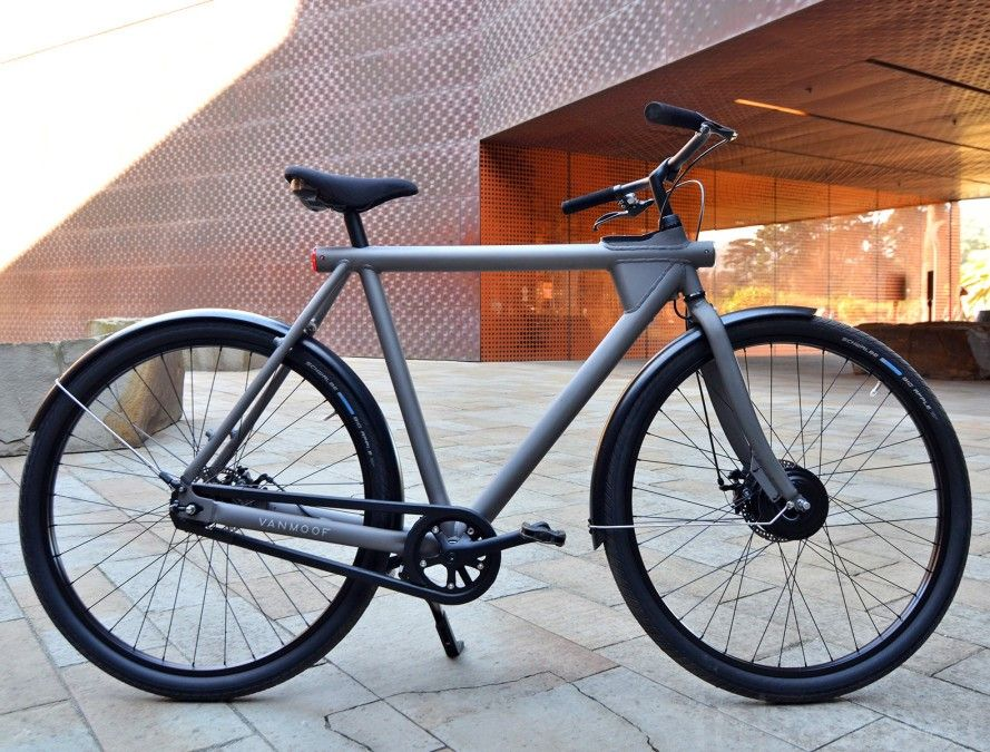 The Vanmoof Electrified Is A Smart Stylish And Stealthy Electric Dream Bike Velo Electrique Velo