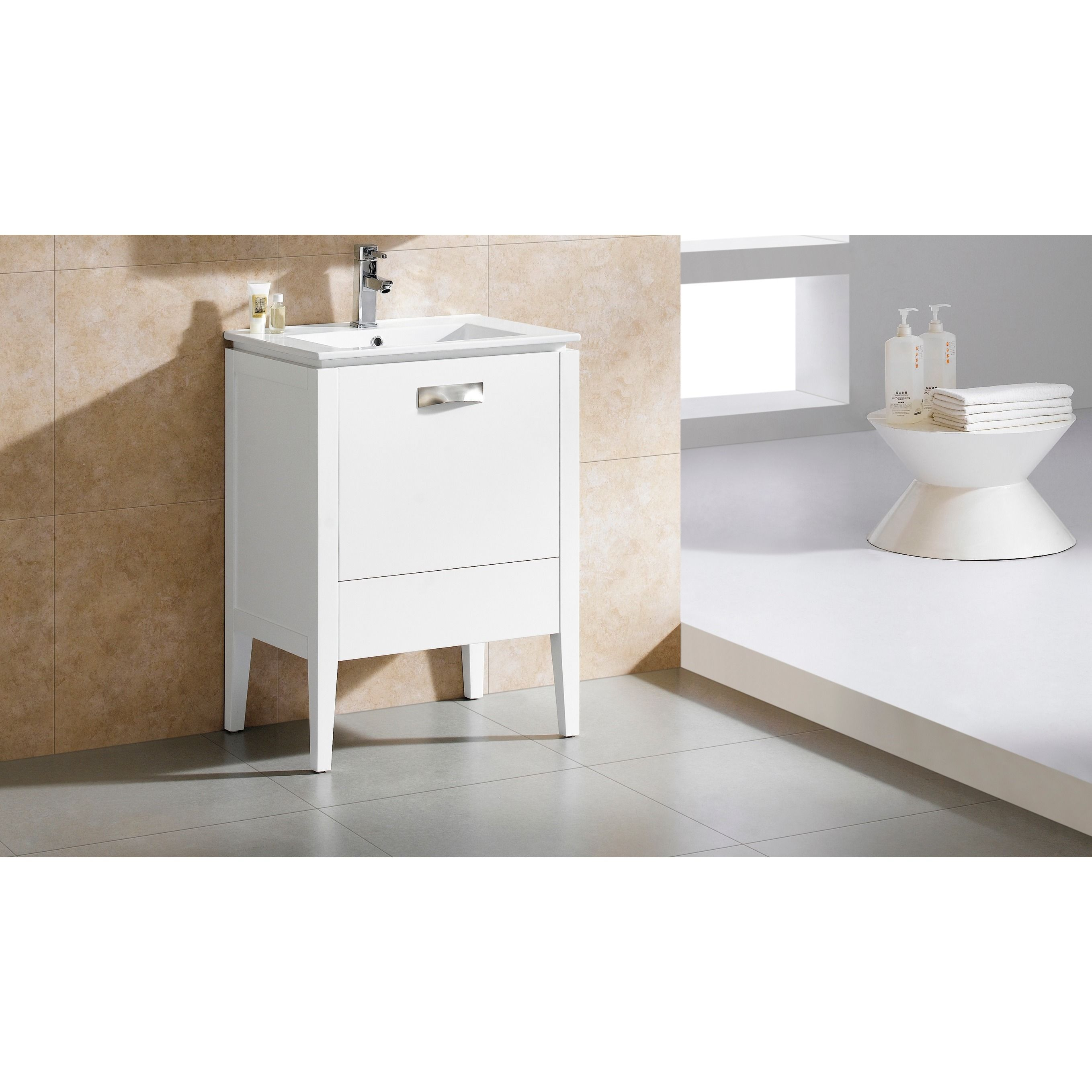 Fine Fixtures Manchester 20 Inch Vanity with Vitreous China Sink