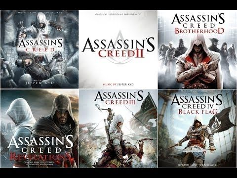 All Assassin S Creed Main Themes Assassins Creed All Assassin S