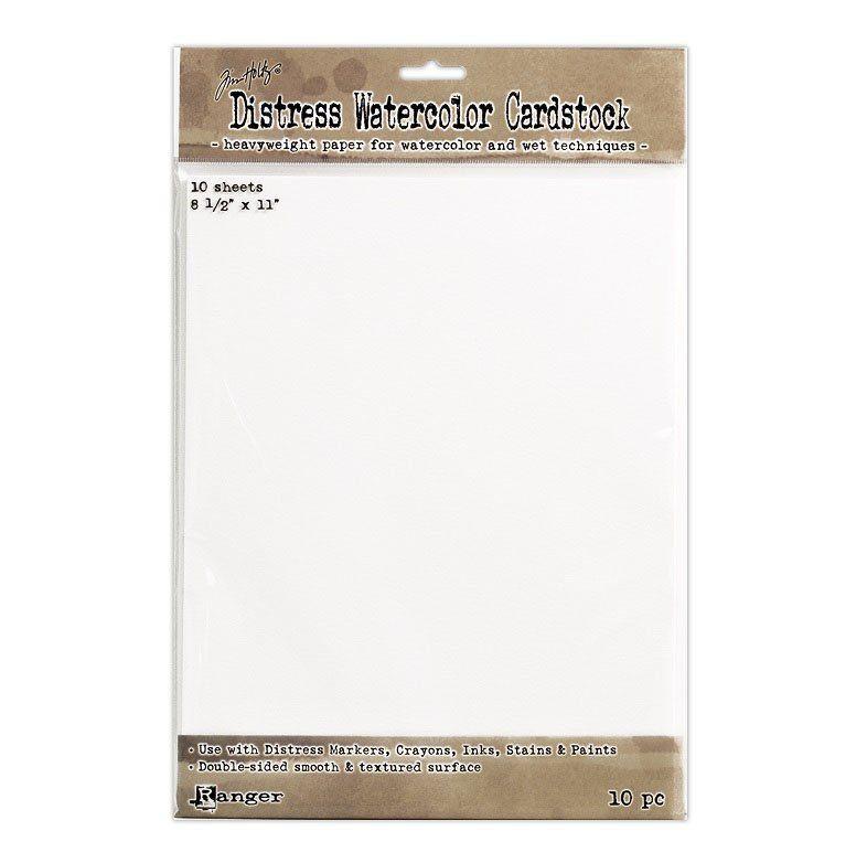 Ranger Ink Tim Holtz Distress Watercolor Cardstock 8 5 X 11