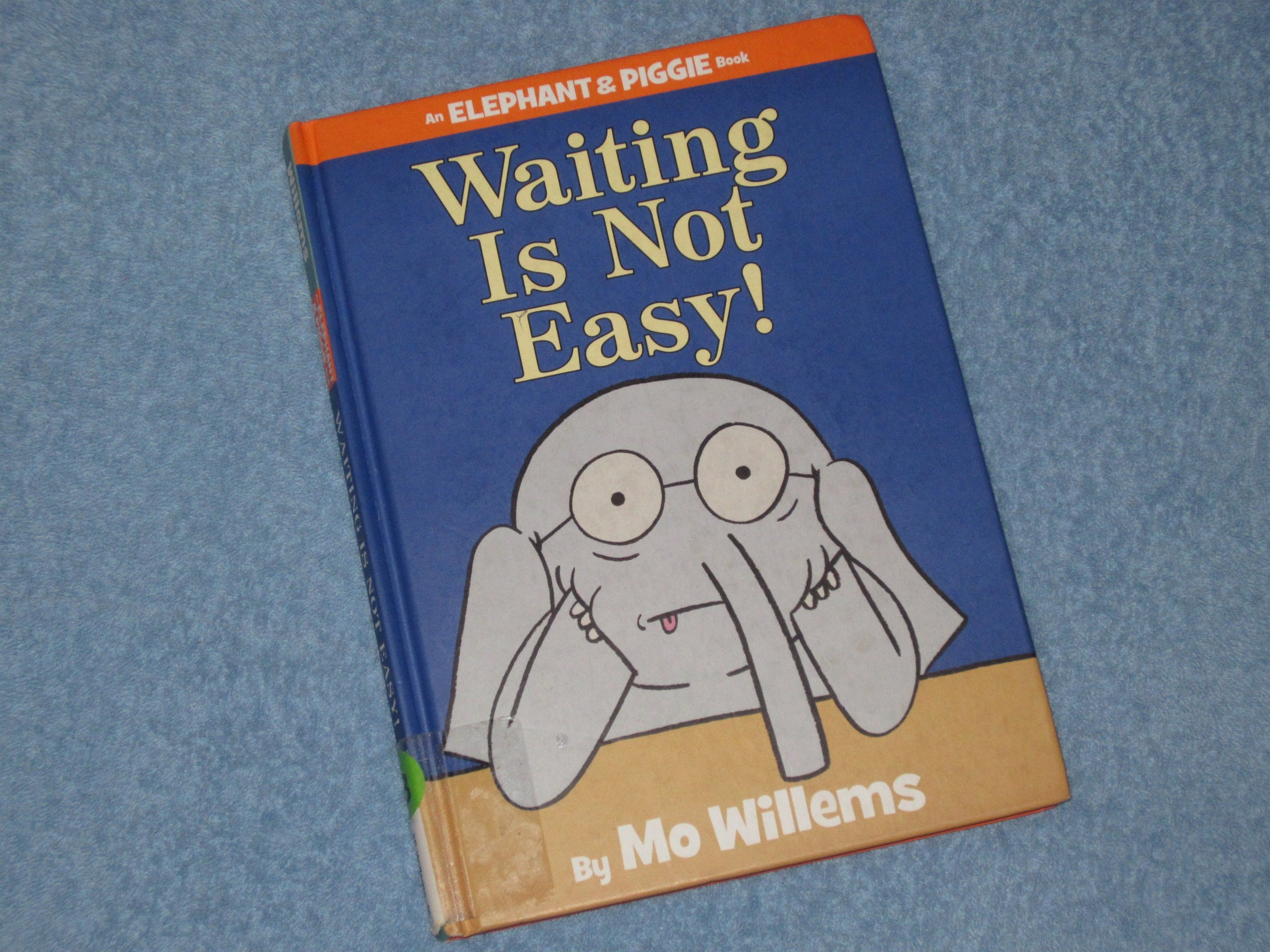 Elephant piggie waiting is not easy childrens read