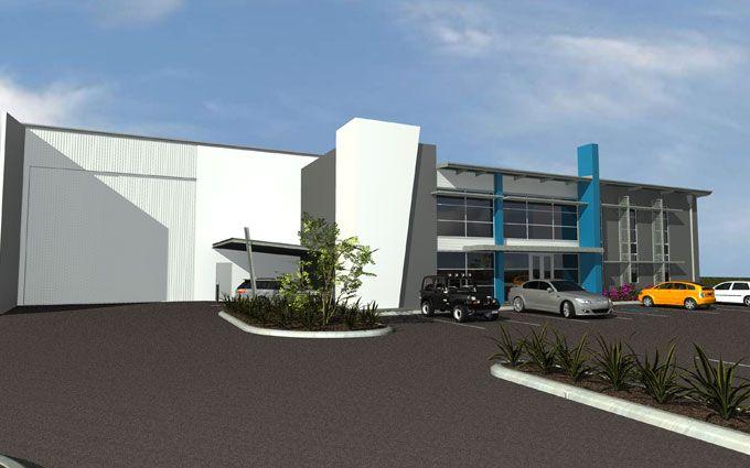 Factory building design penelusuran google factory for Modern industrial house plans