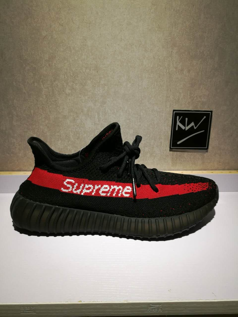 "Adidas Yeezy Boost 350 V2 ""BlackRed"" sold by supremes"