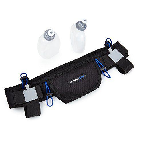 Hydration Running Belt With Bottle By Camden Gear Runners Waist Pack Camden Gear Http Www Amazon Com Running Hydration Belt Running Belt Treadmill Belts