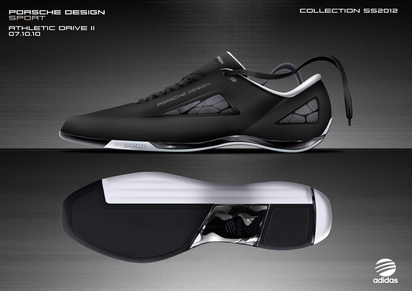 sports shoes c34cb 1e2bb Porsche Design Robert Quach Adidas ATHLETICDRIVEII