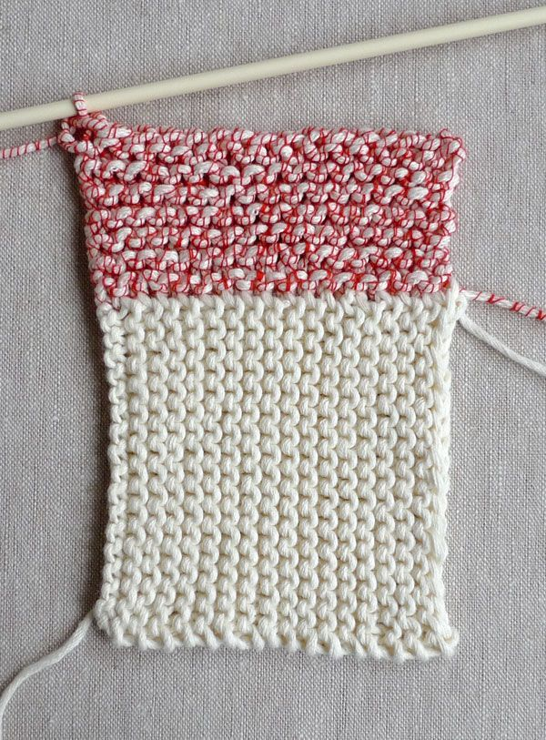 Whit\'s Knits: New Log Cabin Washcloths - The Purl Bee - Knitting ...