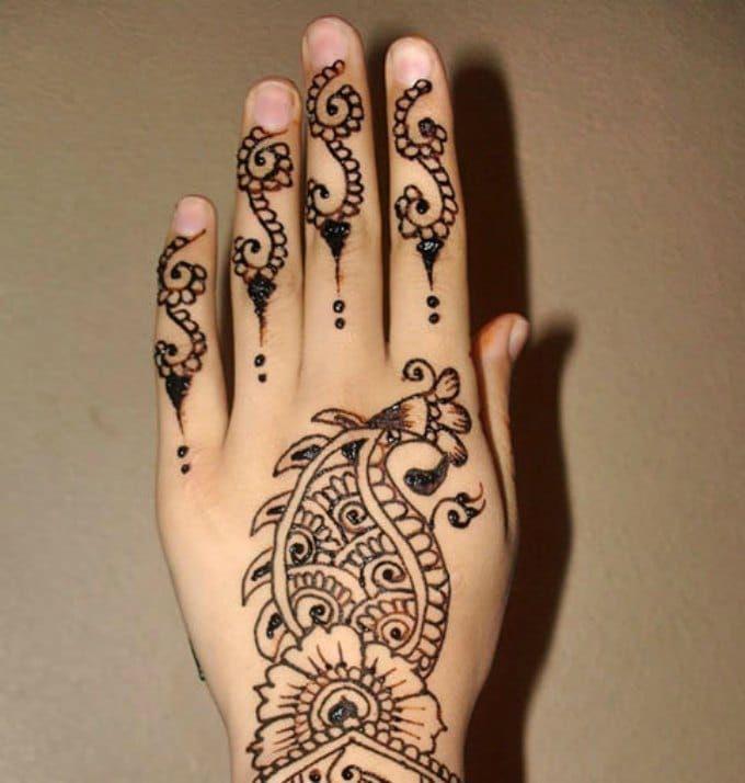 Arabic Mehndi Designs 8