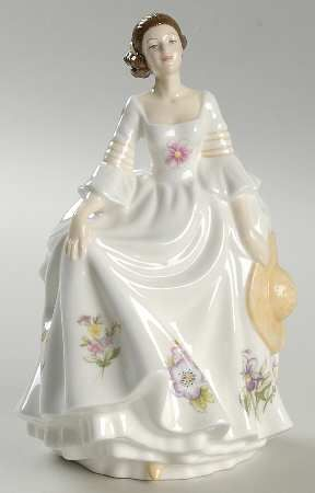 Royal Albert Figurines Of The Year At Replacements Ltd