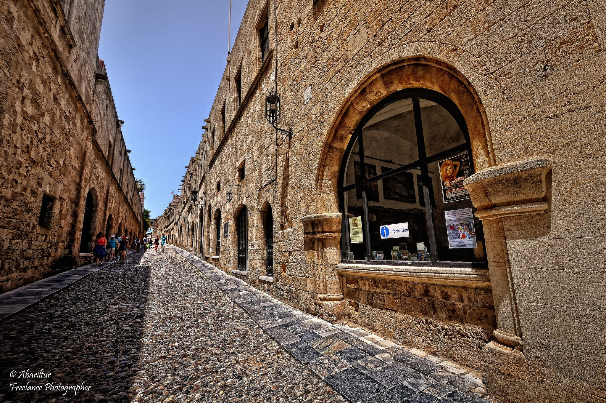 Street Of The Knights Of Rhodes Rhodes Old Town Old Town Greece Towns