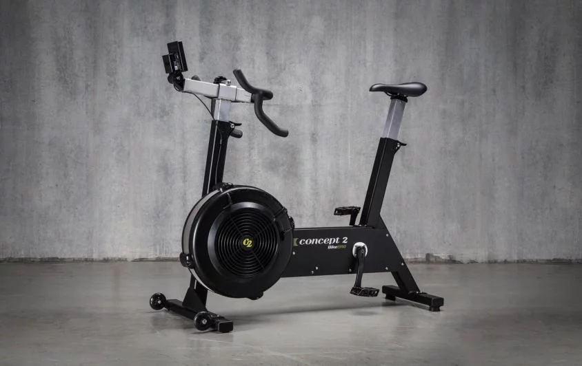 Side View Of The Concept 2 Bikeerg In 2020 Bike Concept2