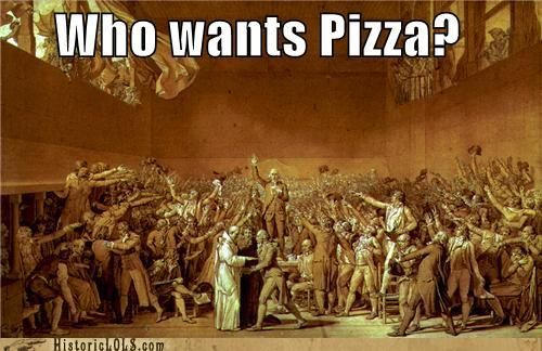 Who Wants Pizza French Revolution Tennis Court Oath