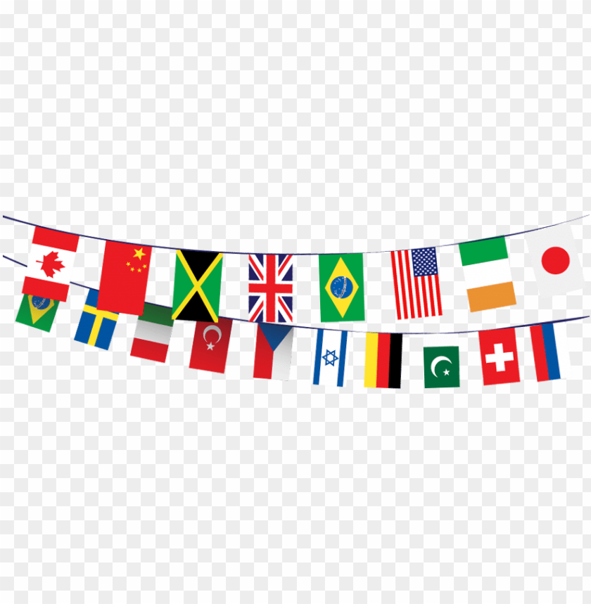 World Flags Banner Png Flags Of The World Flag Banners Country Flags Icons