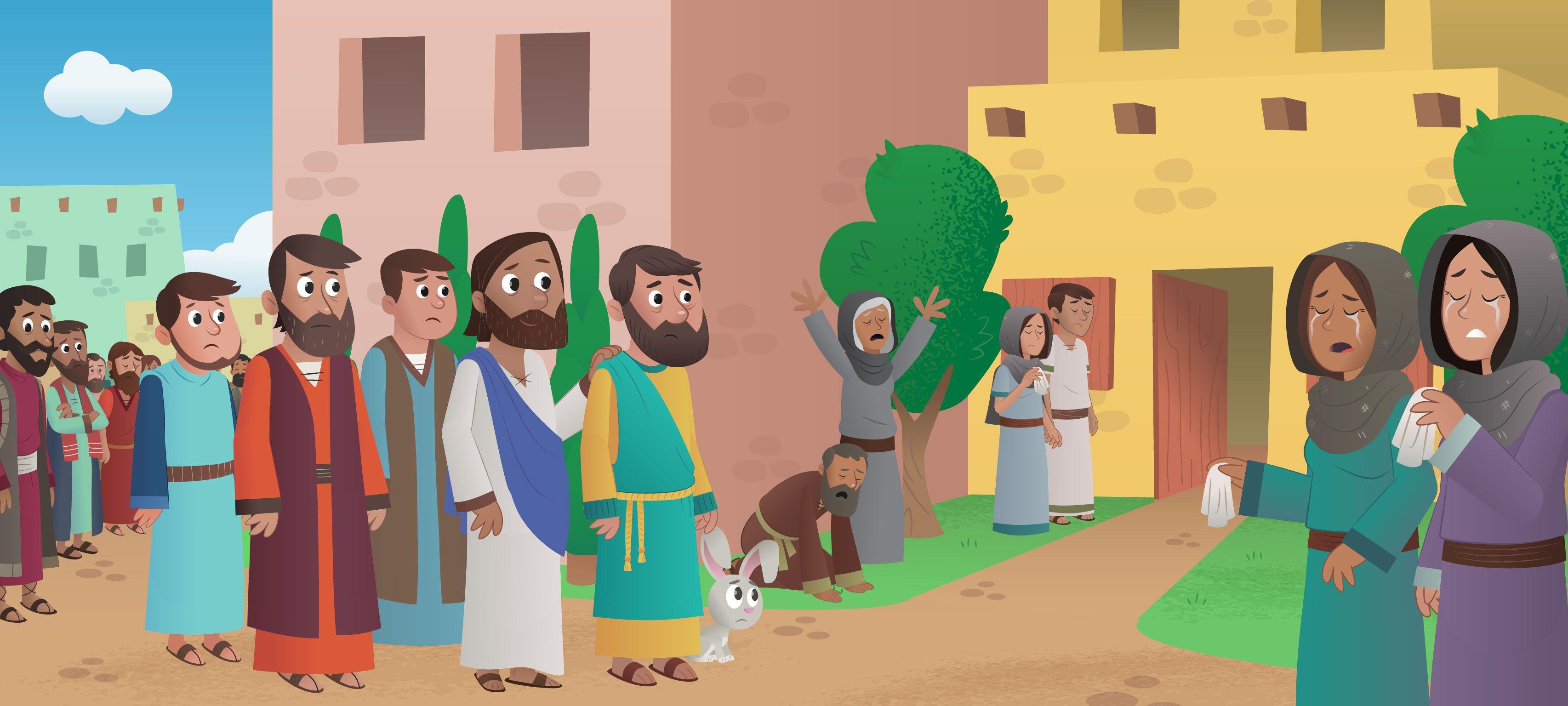 Jesus Heals Jairus Daughter Story For Kids