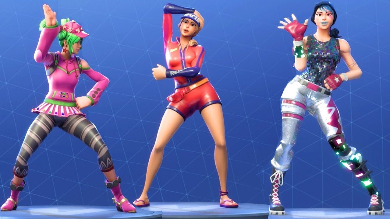 Fortnite All Dances Season 1 To 5 With Images Fortnite