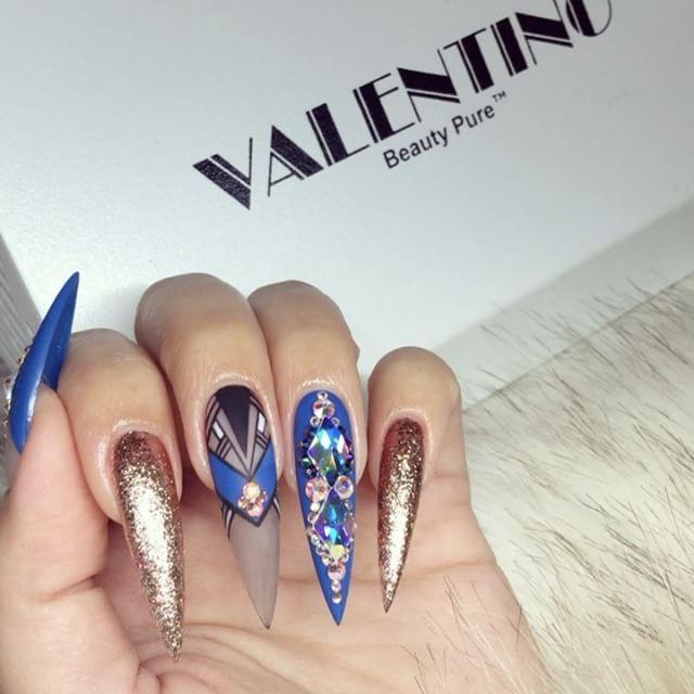 Pin de virginia elizabeth en uñas vicky   Pinterest   Diseños de ...