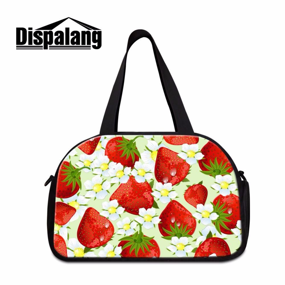 Dispalang Hot Design Tote Shoulder Travel Bag Medium Sized Duffle Handbags  Portable Duffel Bag Carry-on Bag Women Travel Luggage cea594391e
