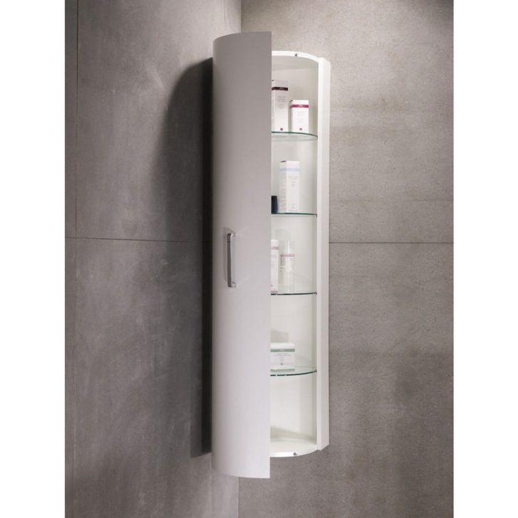Interior Furniture For Bathroom Design Using Corner White Wood