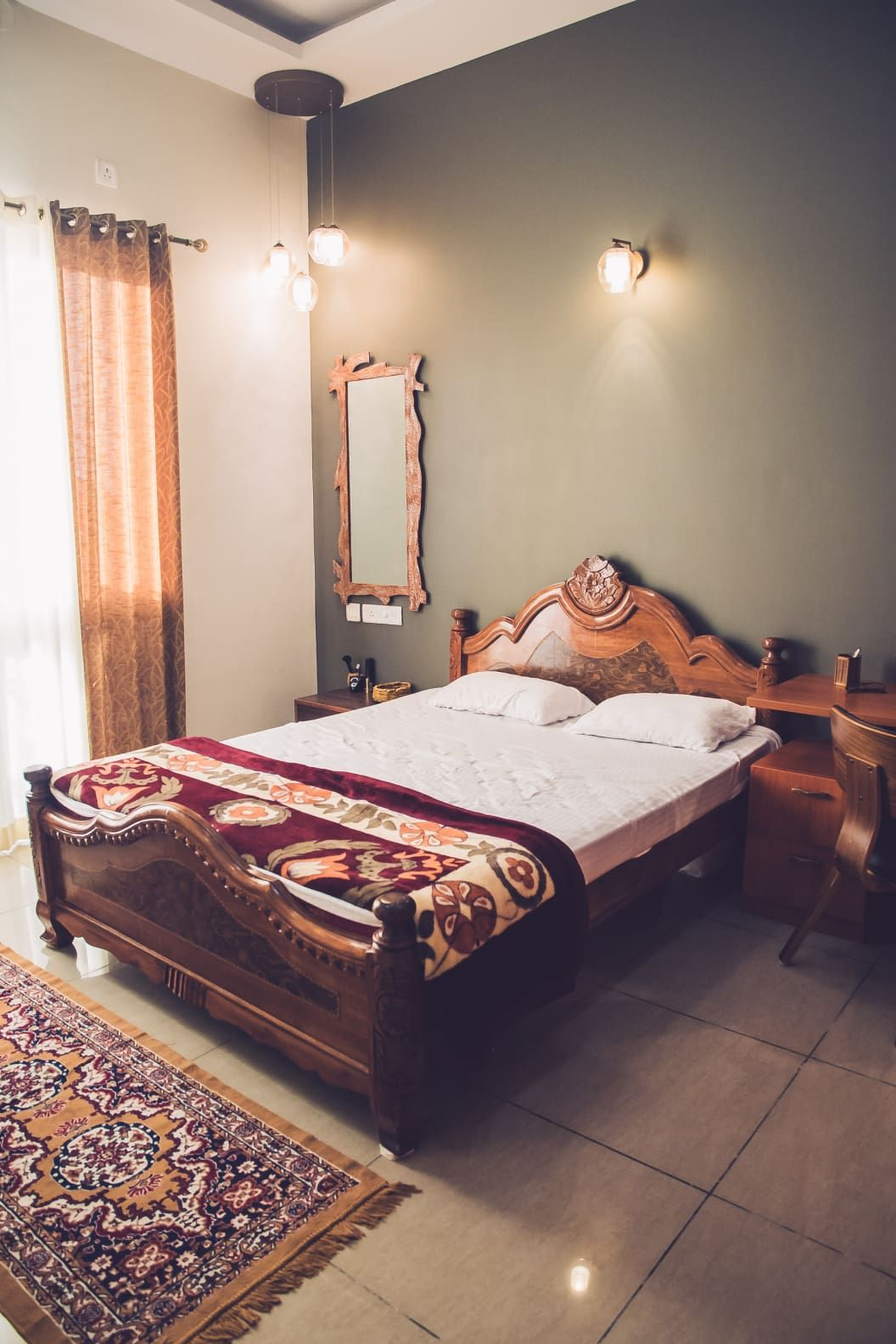 6 Unique Bedroom Wall Paint Colours That Work for Indian ...