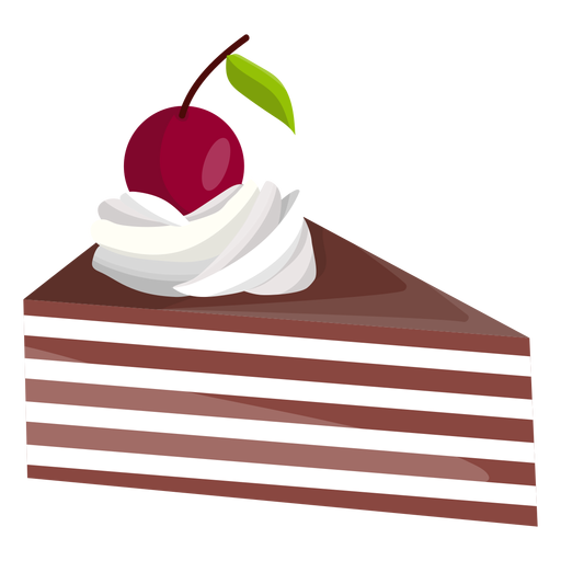Triangle Cake Slice With Cherry Ad Sponsored Ad Cake Slice Cherry Triangle Cake Logo Design Cake Slice Cake Logo