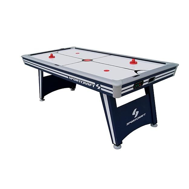 Sportcraft Power Play 84in Air Powered Hockey Table With Table