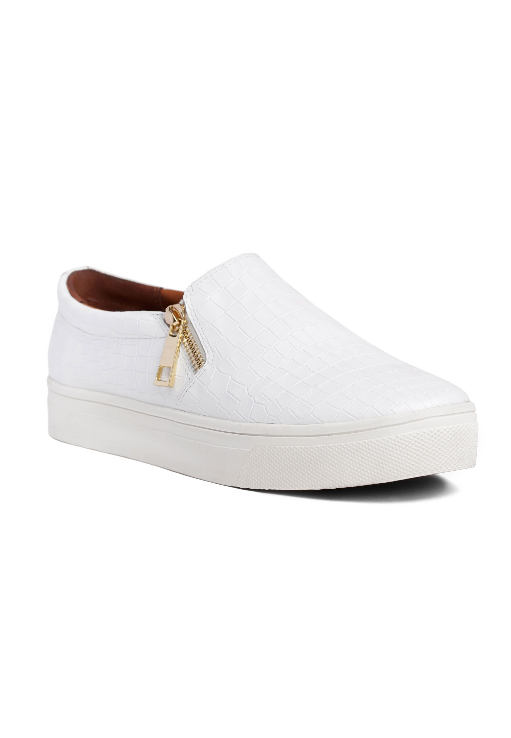 GLIDE SHOES WHITE Shoes, Vans classic slip on sneaker