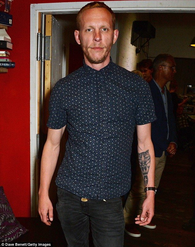 Laurence Fox reveals ornate new inking on his forearm