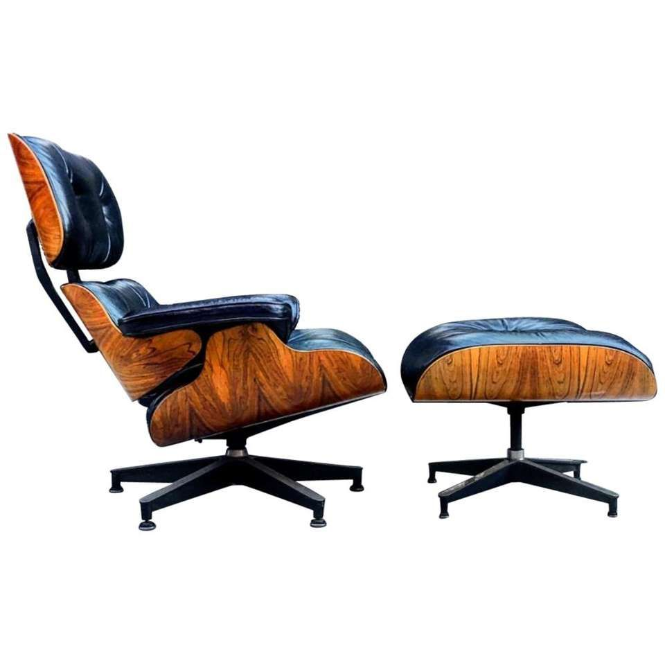 Spectacular Herman Miller Eames Lounge Chair And Ottoman For Sale