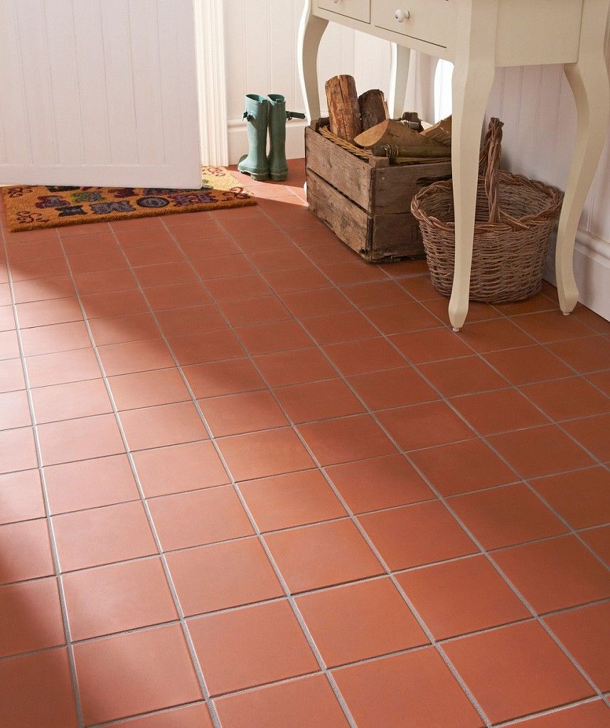 Quarry Red Tile Topps Tiles With Images Quarry Tiles Red