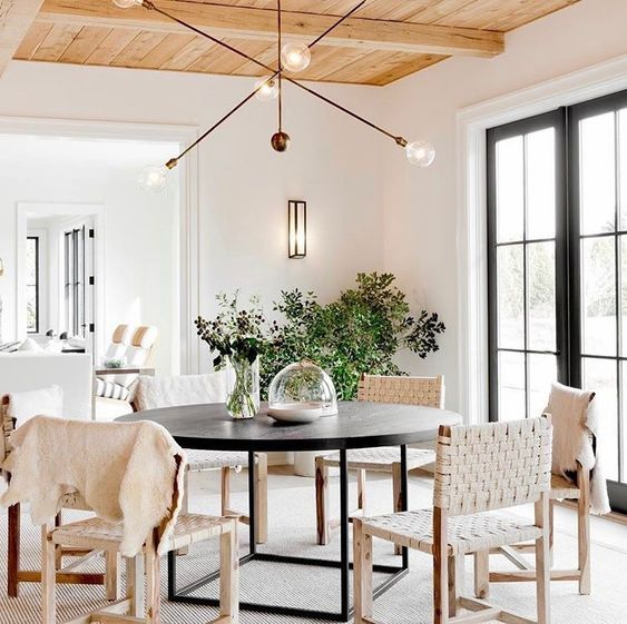 Bright And Natural Dining Room