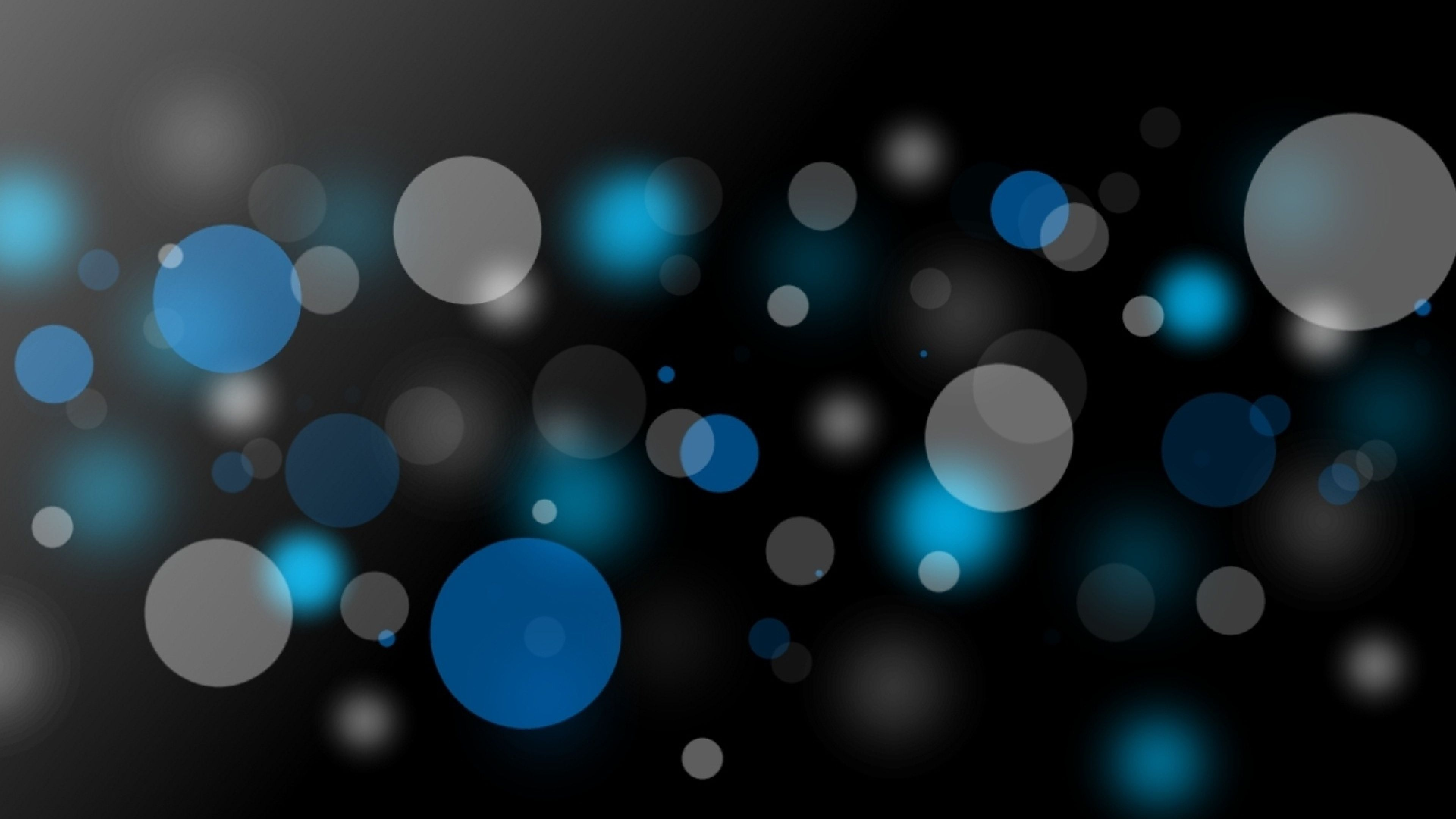 3840x2160 Wallpaper Dark Circle Gray Black Dark Wallpaper