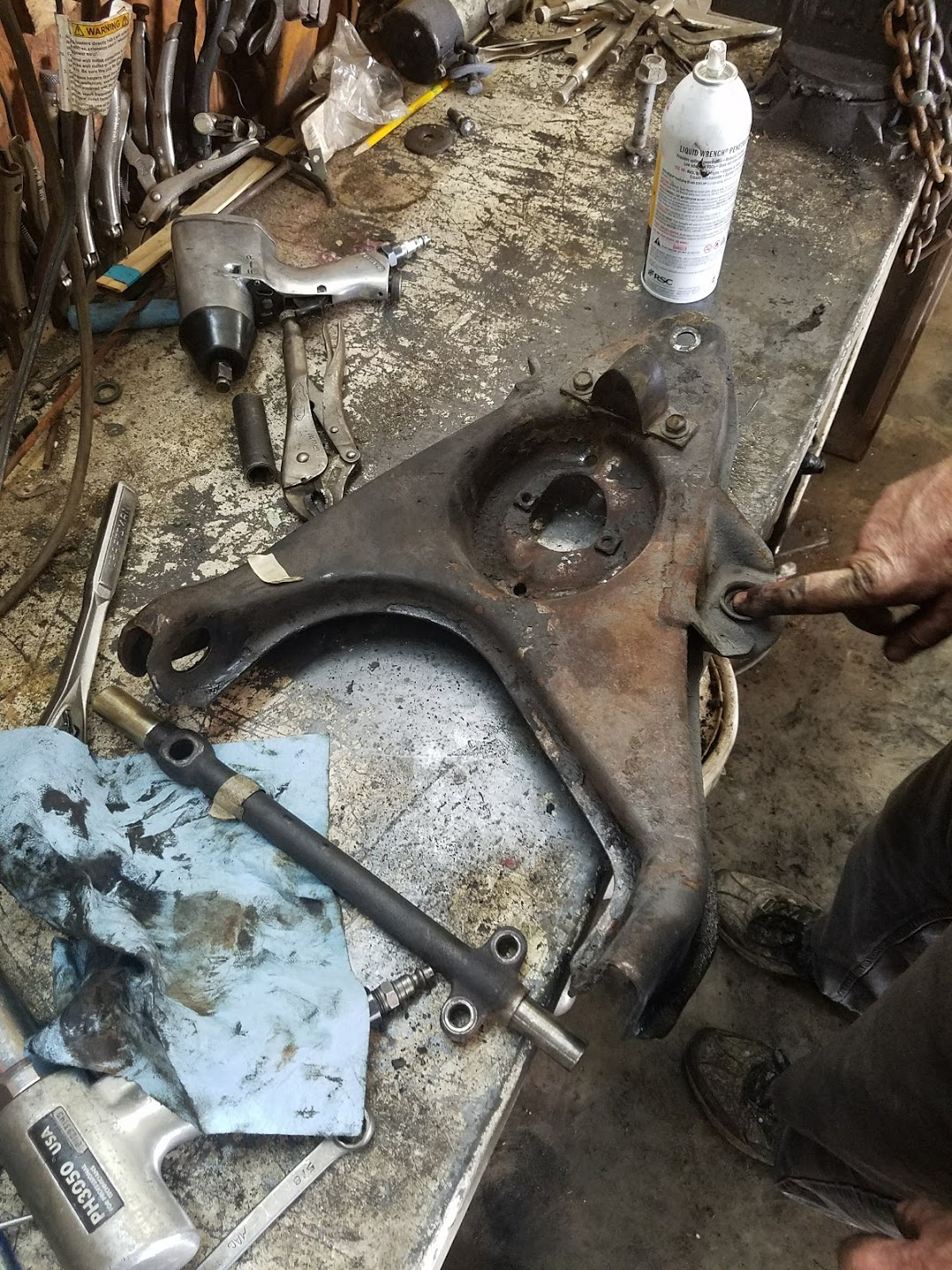Replaced Upper And Lower Control Arm Bushings Shock Absorbers And Upper And Lower Ball Joints April 2018 Control Arm Led Tail Lights Ball And Joint