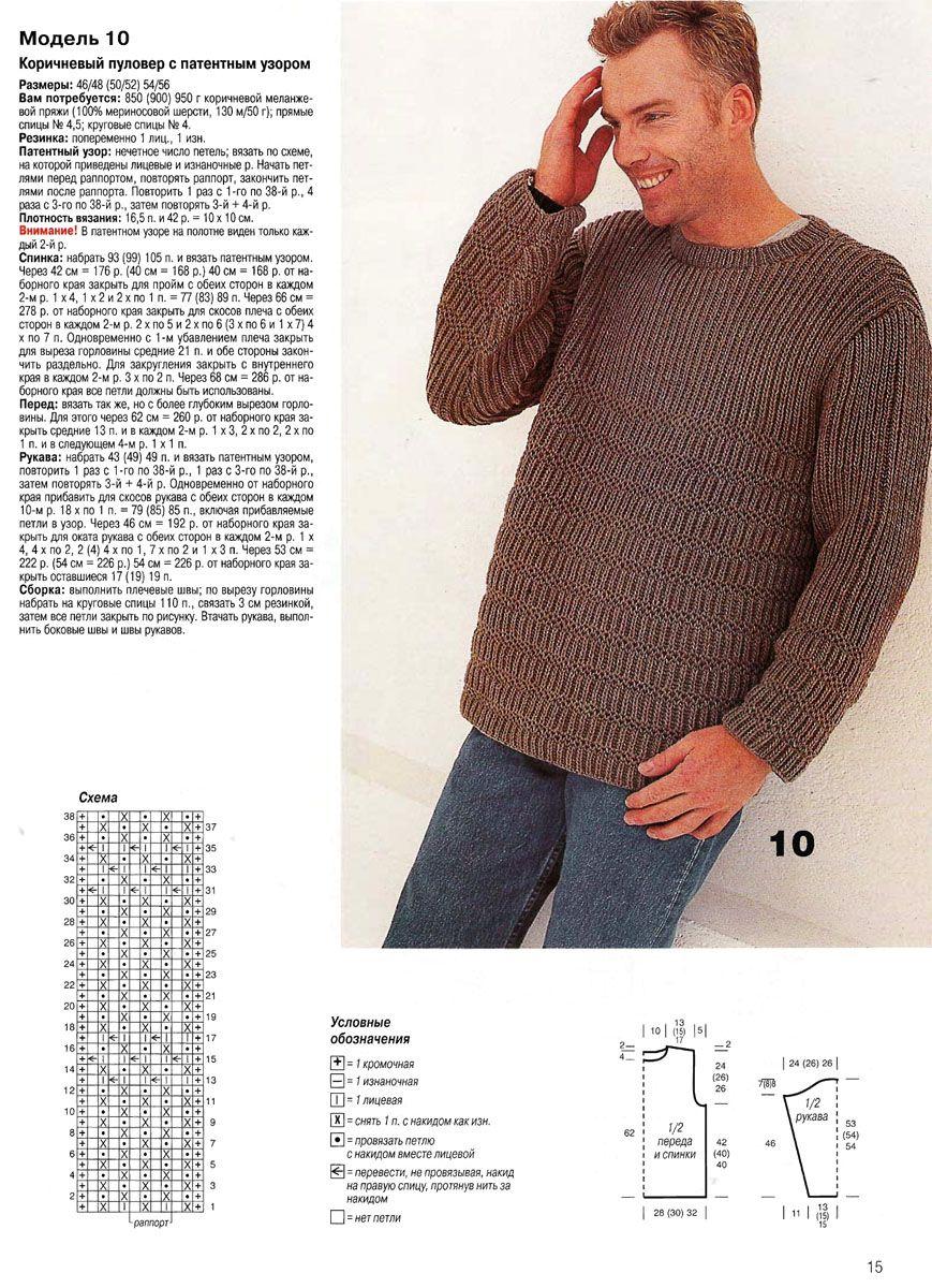 мужской свитер схема картинки придумываются куклы, сих