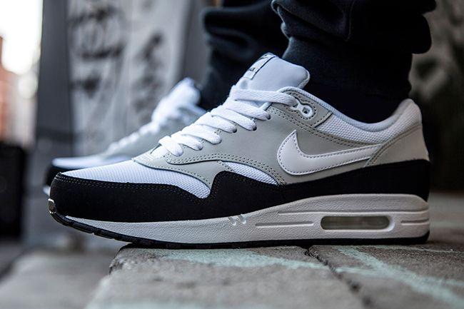 UK Online Nike Air Max 1 Essential Mens Shoe  Dark GreyWolf GreyBlackChallenge Red B48e5151 Online S
