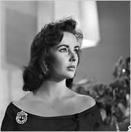 One of the most beautiful women,  Elizabeth Taylor dies at the age of 79.