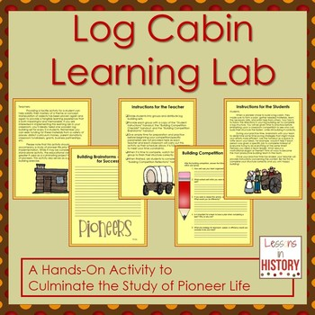 Pioneer log cabin learning lab and team building activity lincoln pioneer log cabin learning lab and team building activity fandeluxe Gallery
