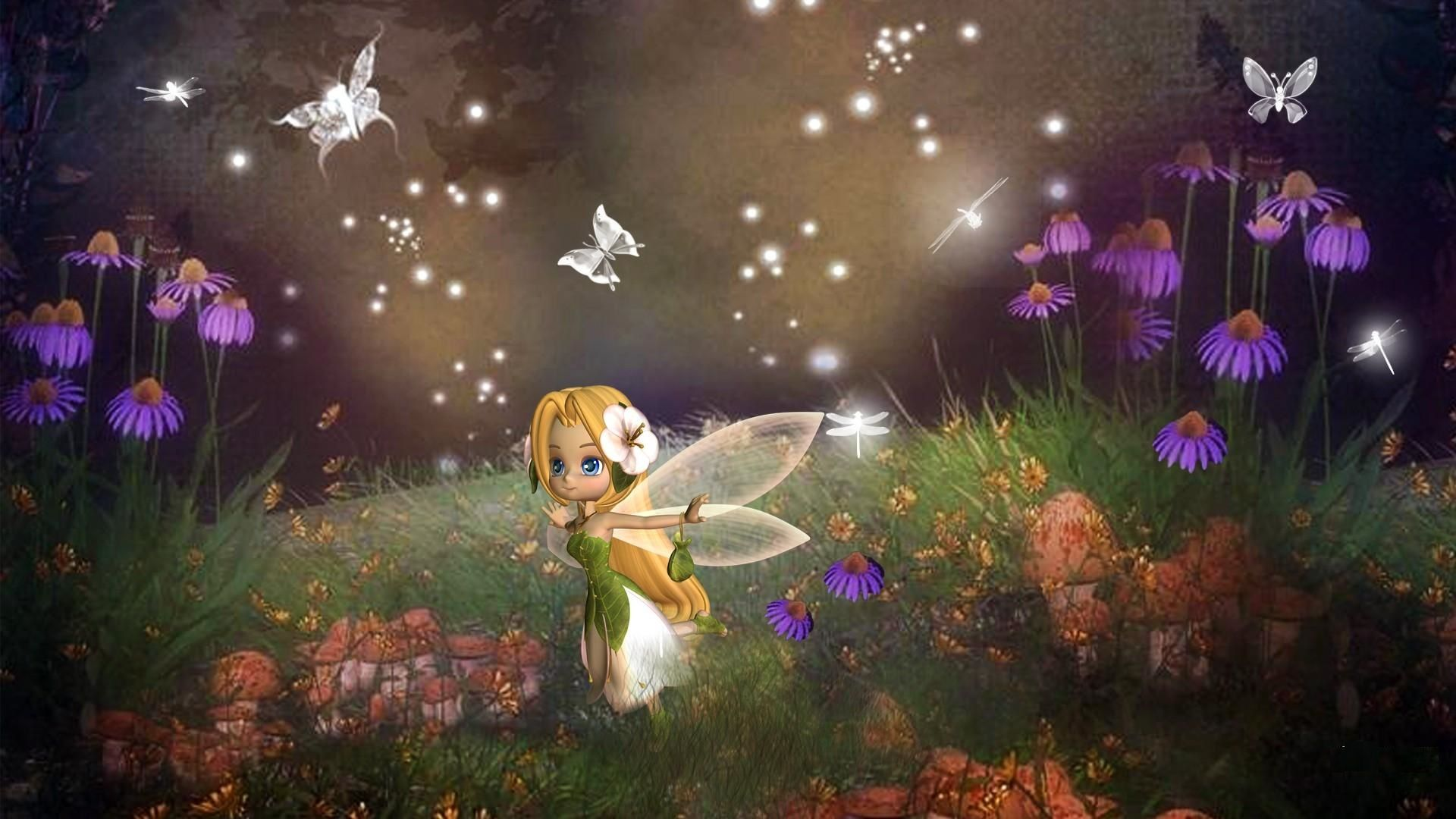 Magical Fantasy Hd Wallpapers That Will Take Your Breathe: Free Animated Fairy Pictures Animated Fairies Wallpapers