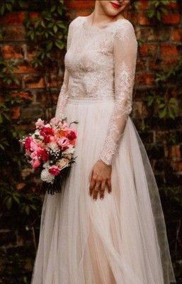 Suknia Slubna Koronka Sylwia Kopczynska 2017 R 36 6879207514 Oficjalne Archiwum Allegro Dresses Victorian Dress Wedding Dresses