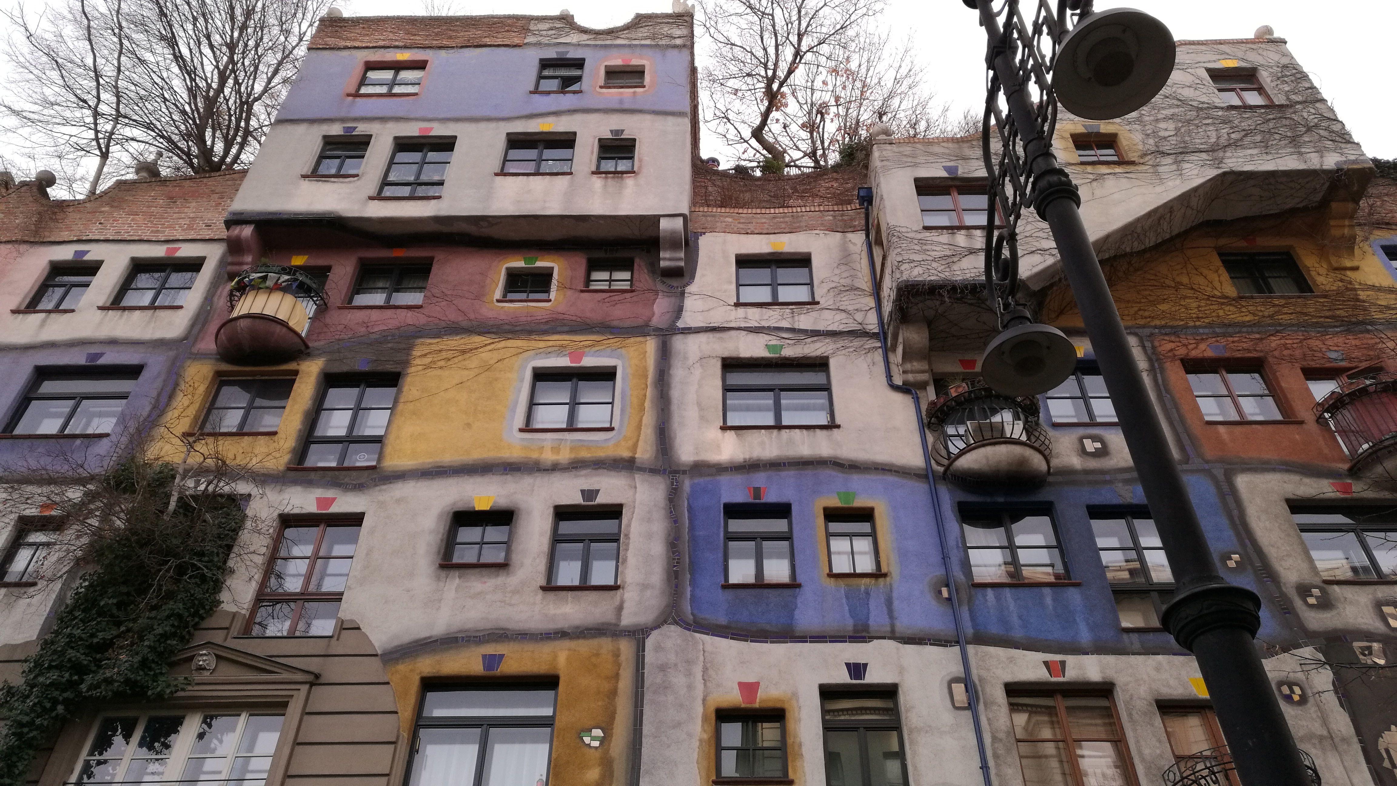 Colores y formas, esto es Hundertwasser