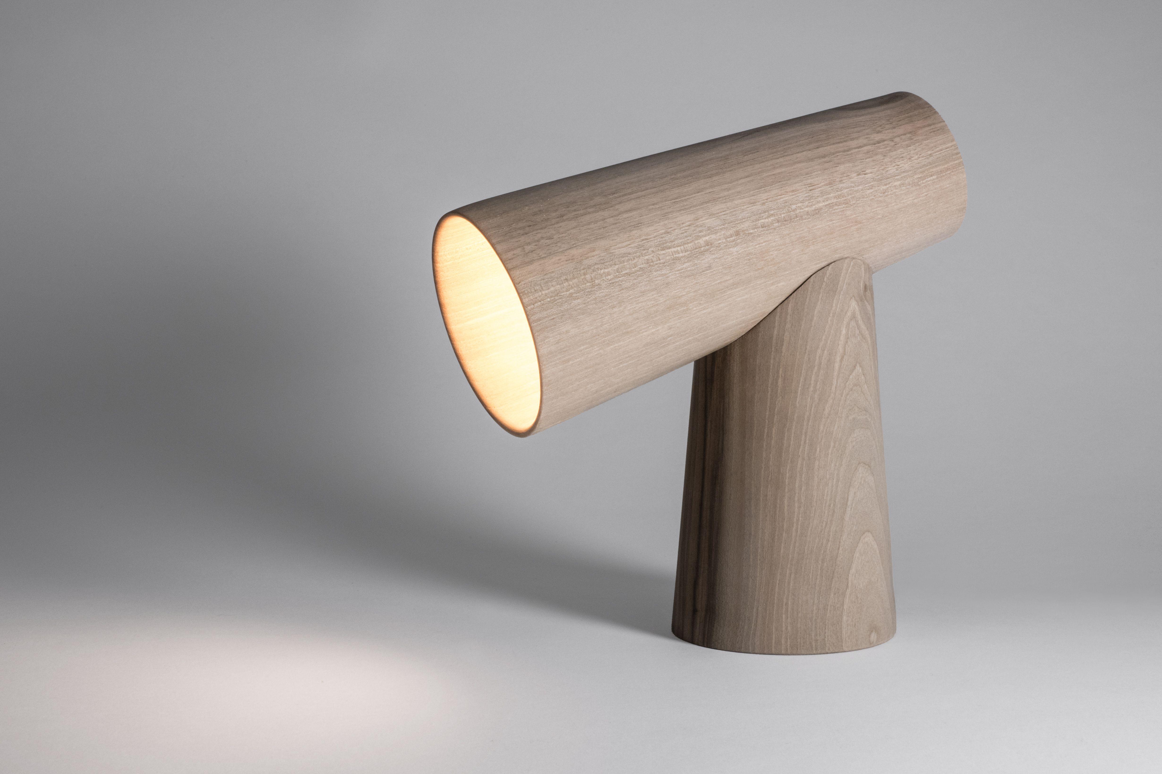 Lampe En Bois Design By Marco Marino Tournevire Lab Marcomarino