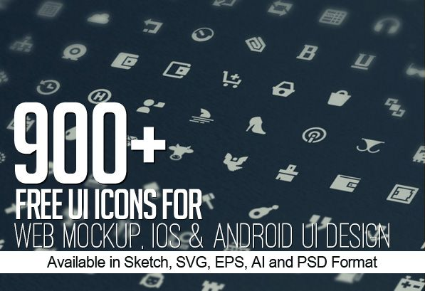 900 free icons for web ios and android ui design androidicons