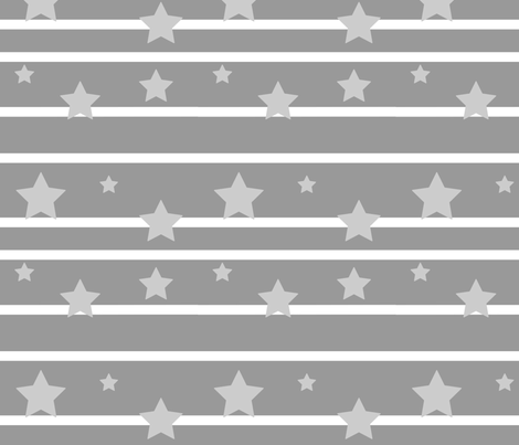 Starz fabric by stickelberry on Spoonflower - custom fabric