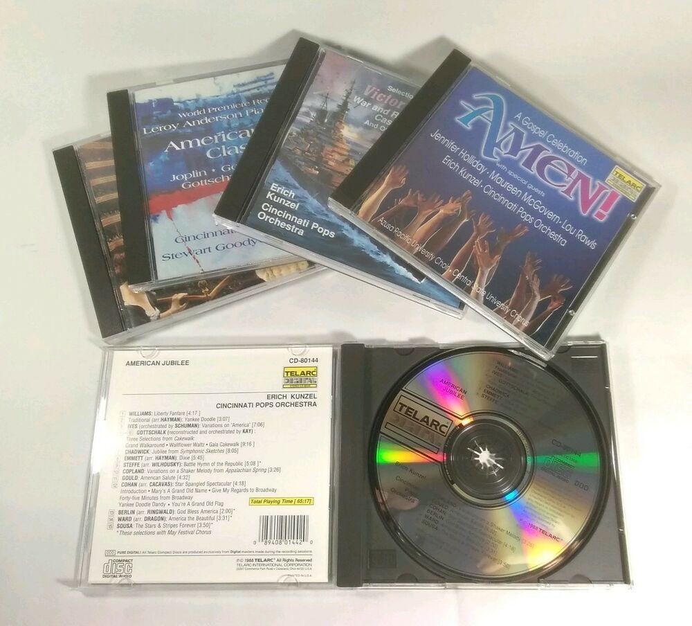 Pin Op Erich Kunzel Telarc Digital Cds And Cassettes